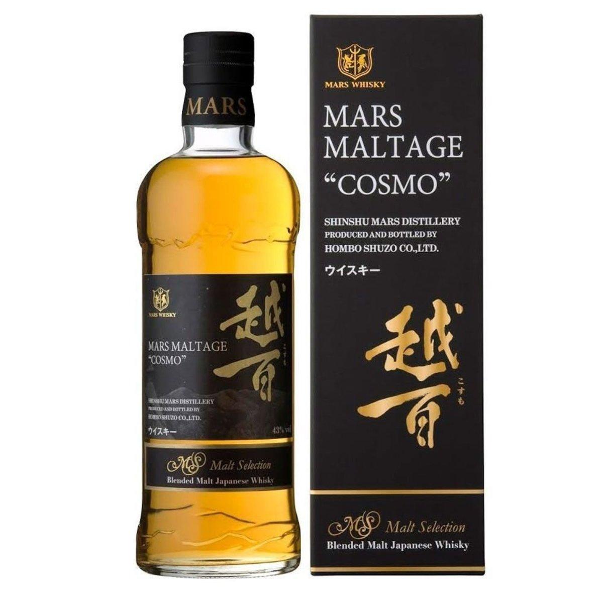 越百 MARS Maltage 'COSMO' Blended Malt Whisky 700ml  (4976881501164_1)