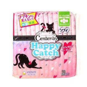 日用有翼衛生巾 (21cm x 28片) 貓咪造型 ~4903111323074~ #Unicharm 衛生巾 Sanitary Napkin Catch Day 28片裝