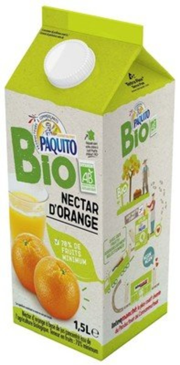 French Organic Orange Nectar 1.5L