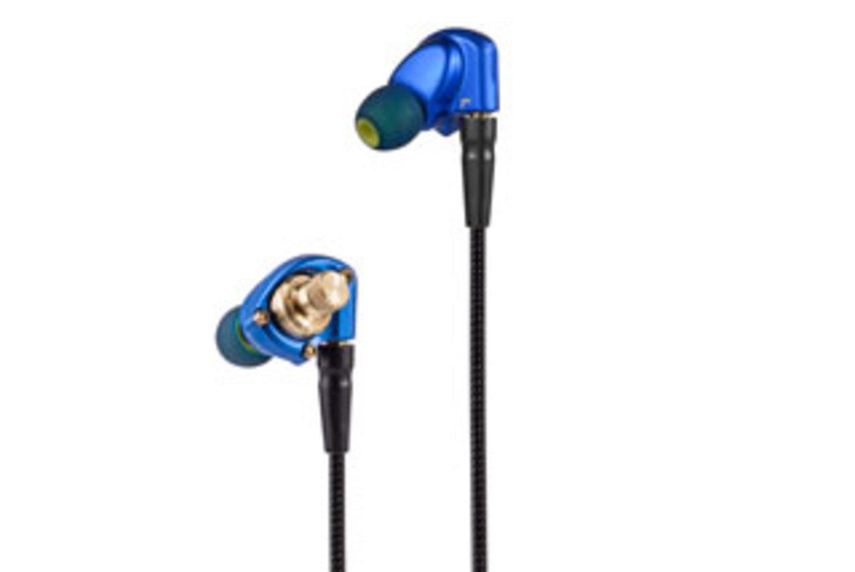 HS1551 CU In Ear Monitor Earphones[Blue]