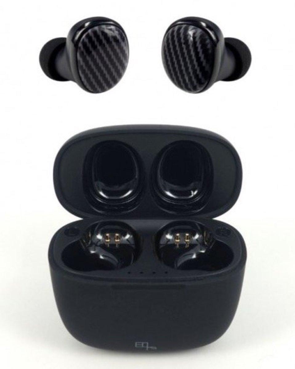NOISEZERO WS+ Bluetooth 5.0 True Wireless Earphones[Carbon Fiber Black]
