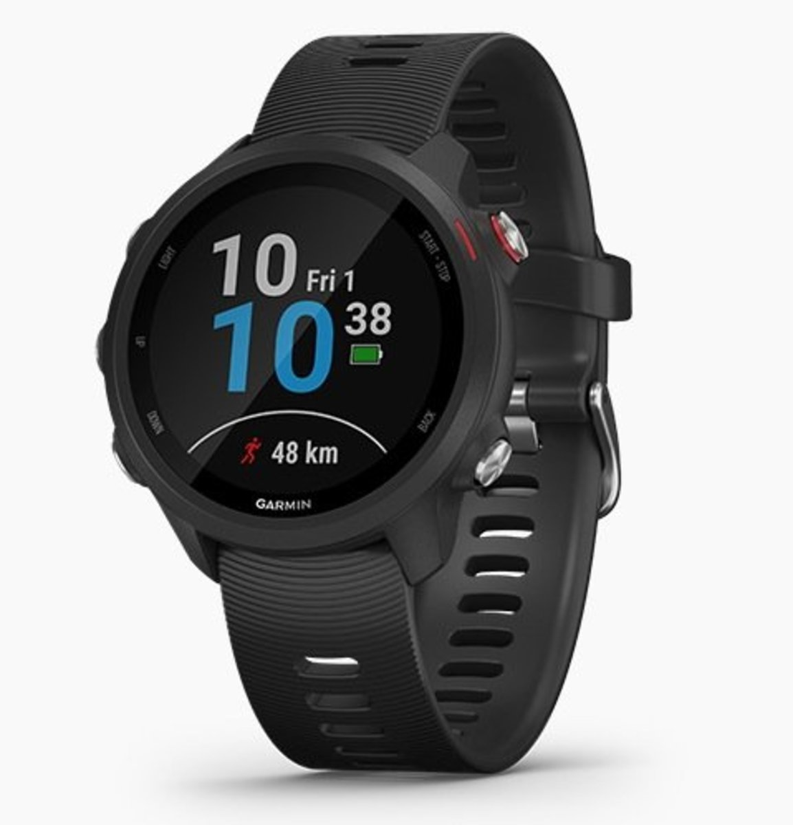Forerunner 245 Music 進階跑步訓練GPS智能手錶[英文][黑色]