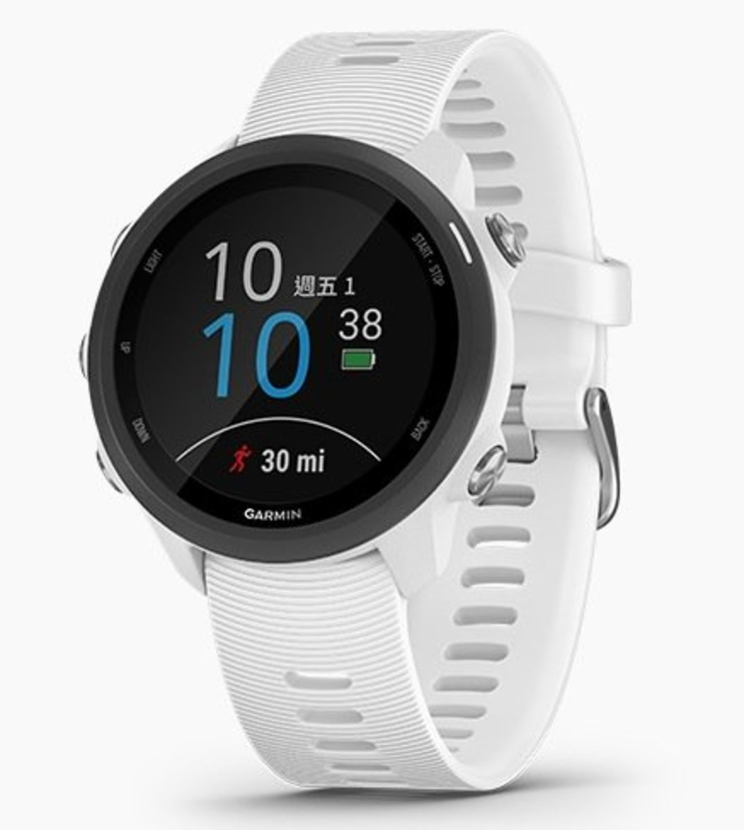 Forerunner 245 Music GPS SmartWatch[Traditional Chinese/English][White]