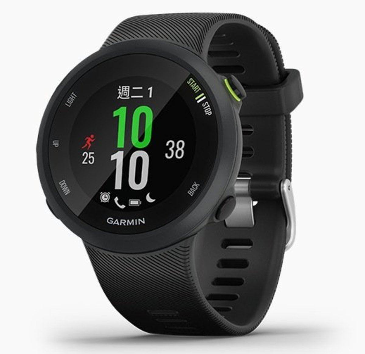 Forerunner 45 GPS Smart Running Watch[Traditional Chinese/English][Black][Large Size]