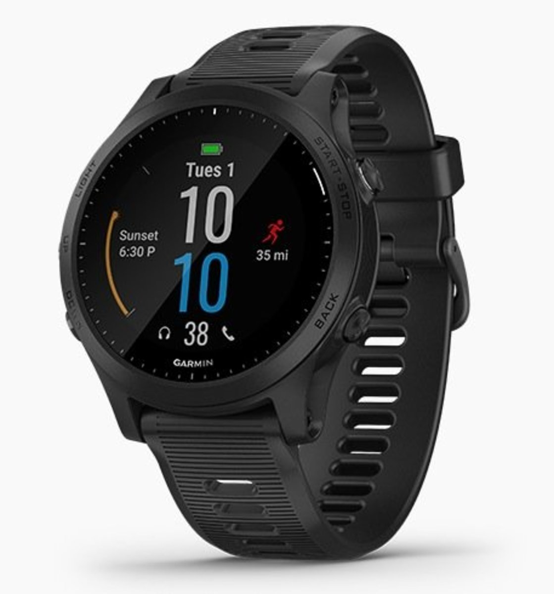 Forerunner 945 全方位鐵人運動GPS智能手錶[英文][黑色]