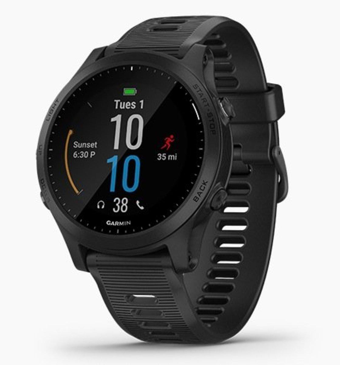 Forerunner 945 GPS SmartWatch[English][Black]