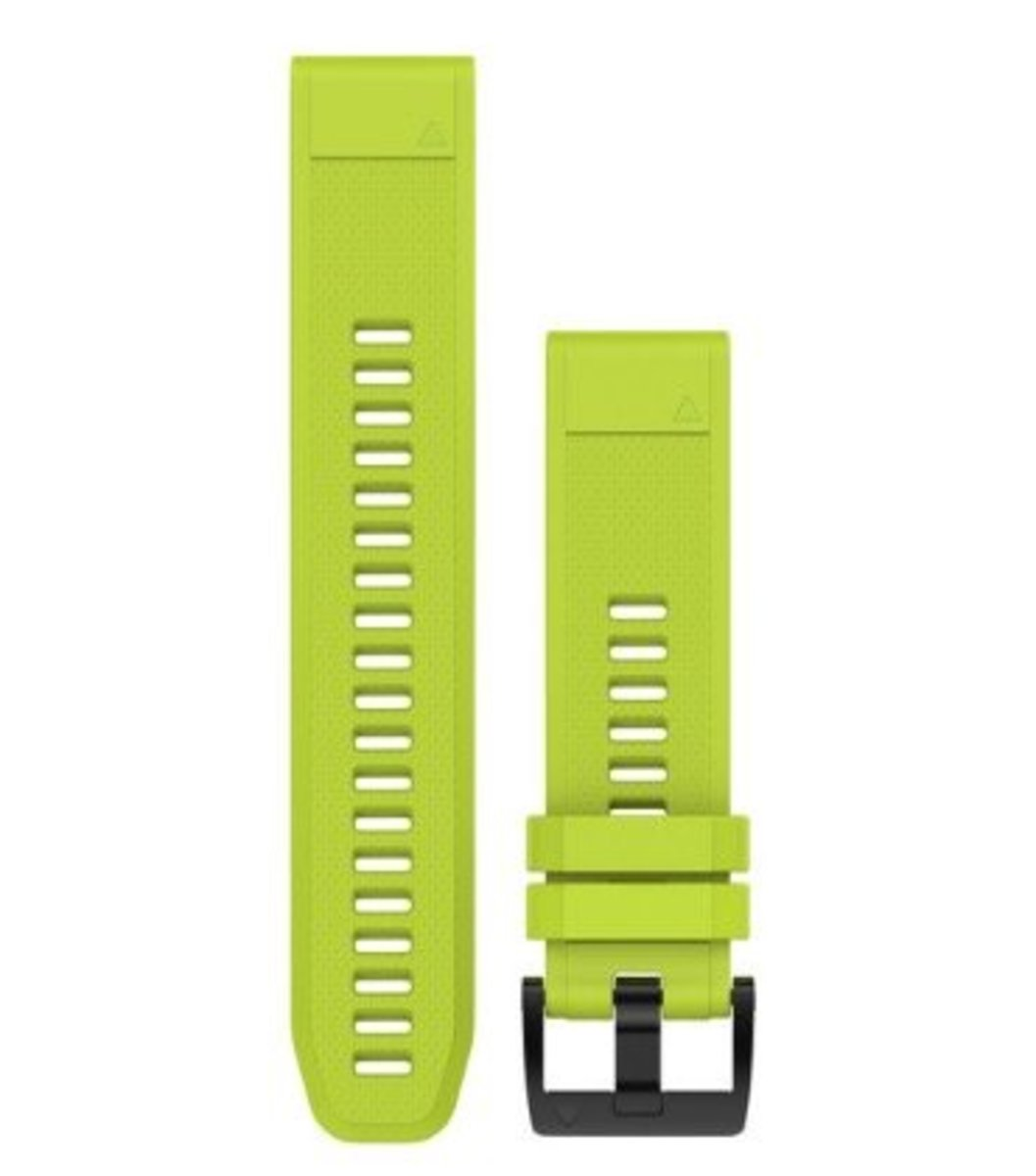 QuickFit® 22 Watch Bands[Amp Yellow Silicone]