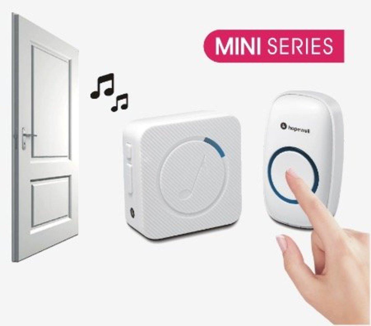 260m Mini Plug-In Wireless Doorbell[DB-M1]