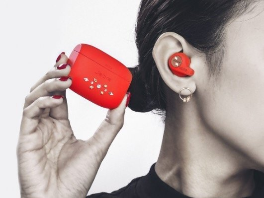 Jabra Elite Active 65t True Wireless Earphones Swarovski Edition Copper Red Hktvmall Online Shopping