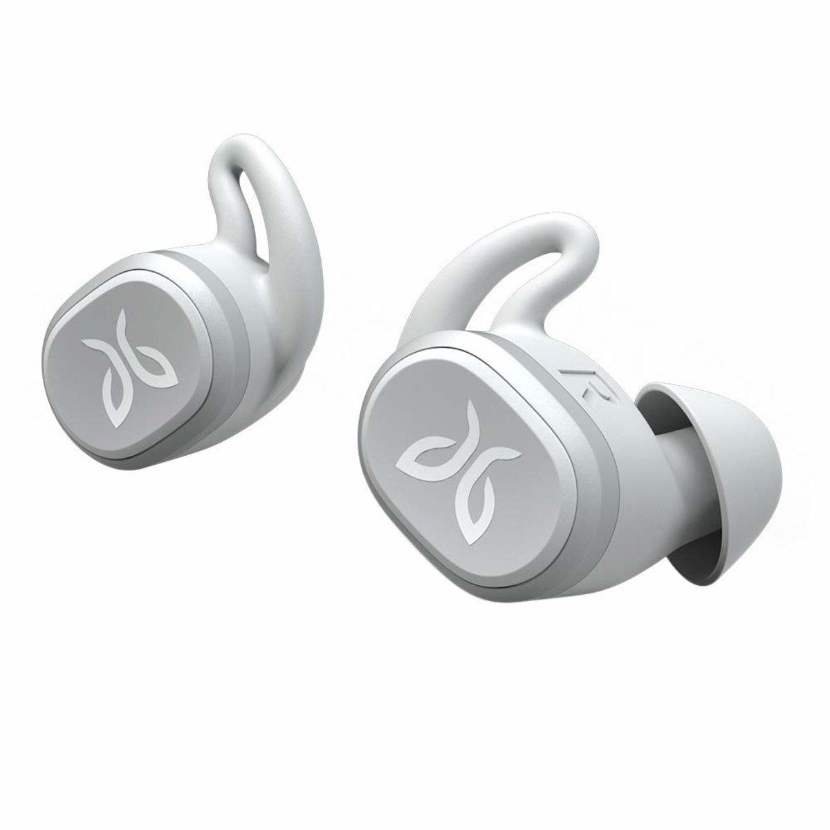 Vista 藍牙5.0真無線 IPX7防水運動耳機[淺灰色]