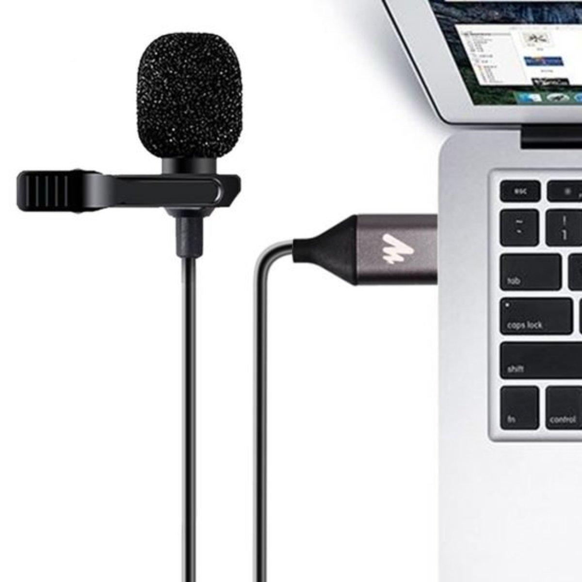 USB夾式電容咪[AU-410]