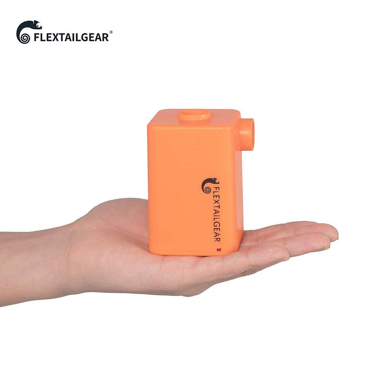 MAX PUMP PLUS  Travel Vacuum Compressor - Orange