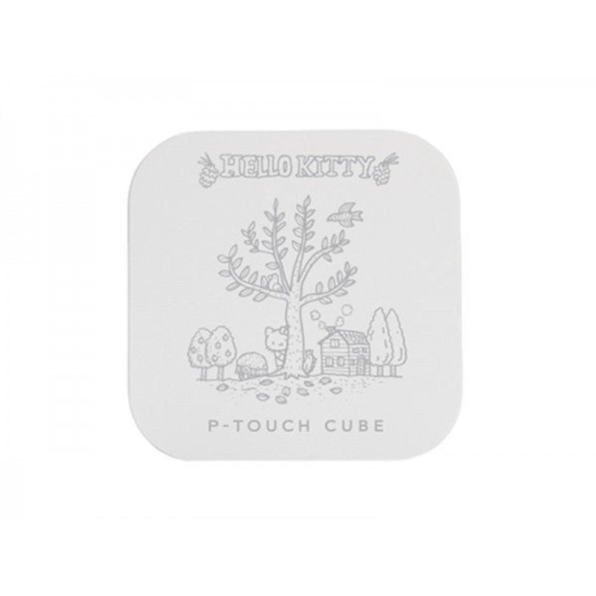 PTP300BTKT P-touch Cube HELLO KITTY Pattern Bluetooth Label Printer