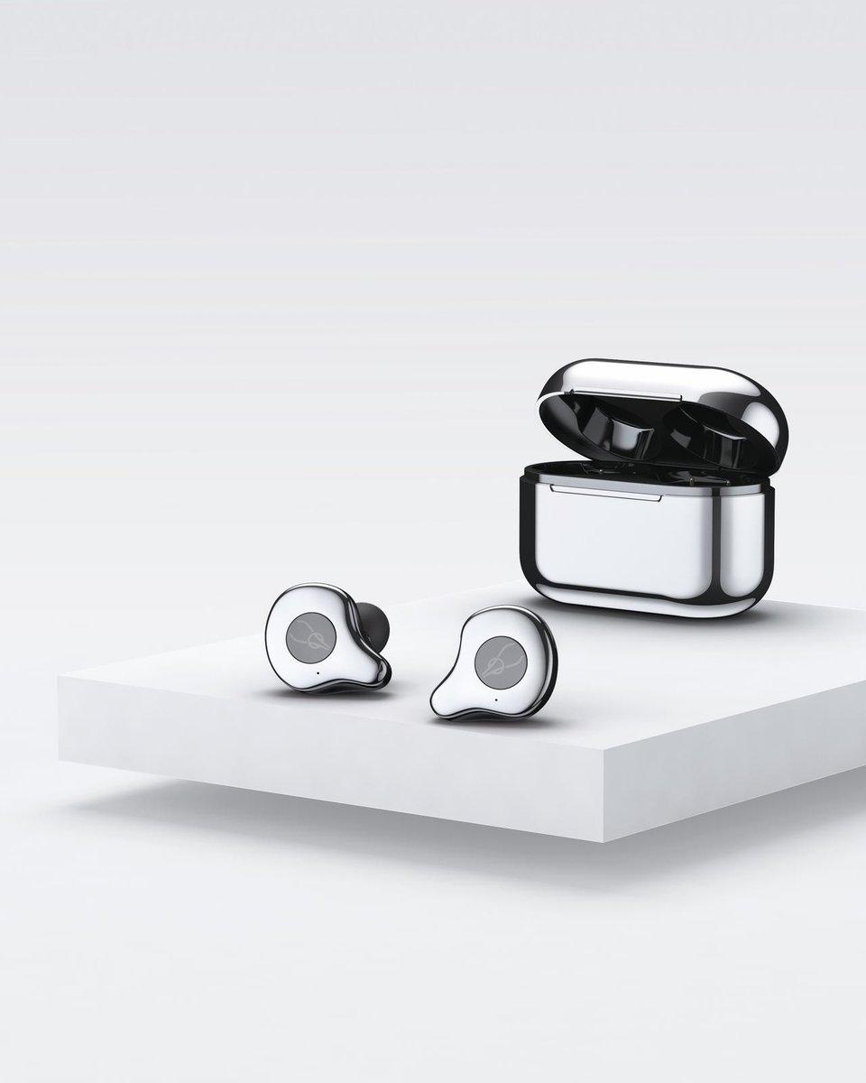 E12 True Wireless Bluetooth 5.0 Waterproof Stereo Earphones[Ice Platinum]][New Version]