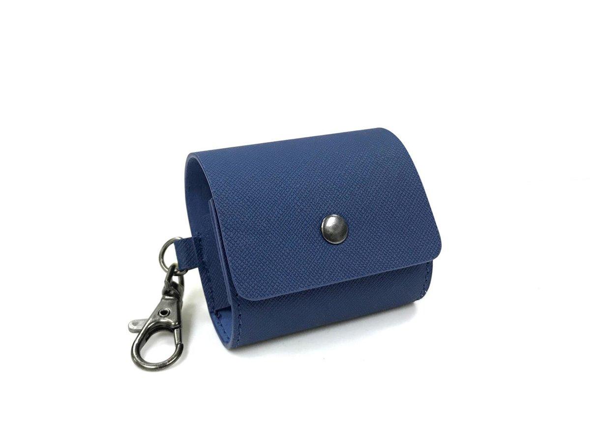 E12 or X12 Pro 真無線耳機專用皮套[藍色]