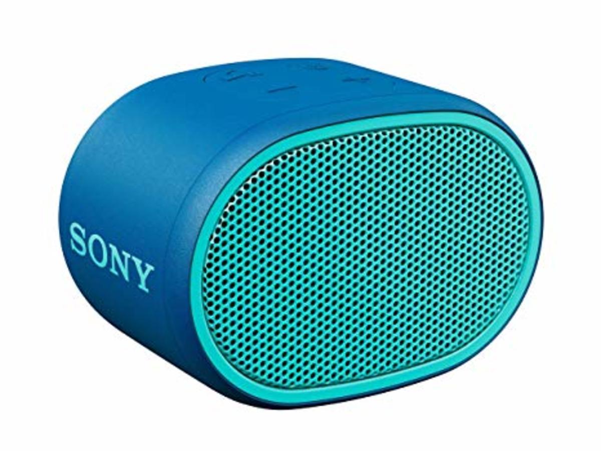 SRS-XB01 EXTRA BASS Waterproof Bluetooth Speaker[Blue]
