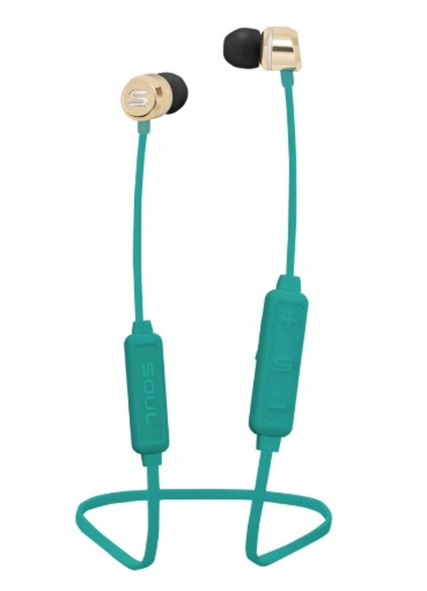 Prime Wireless Bluetooth Earphons[Green]