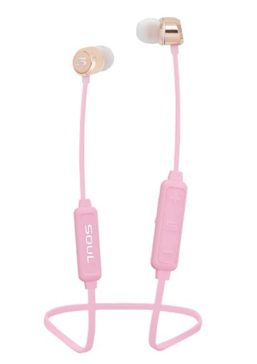 Prime Wireless 磁吸藍牙無線耳機[粉紅色]