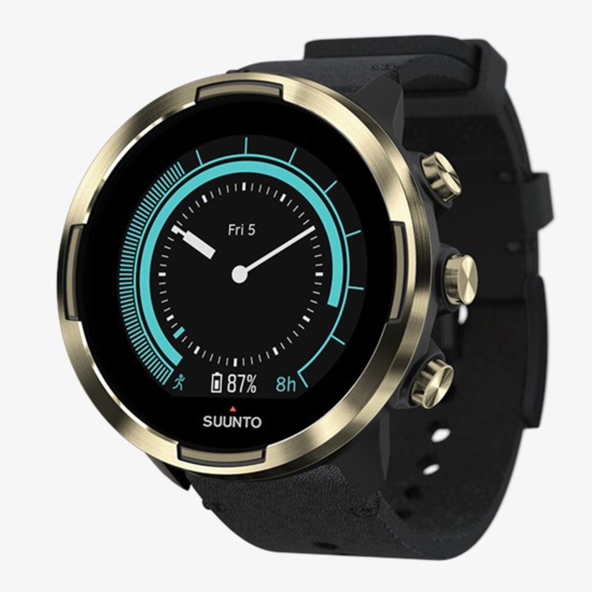 9 Baro Gold Leather Sport Smart Watch[SS050253000]
