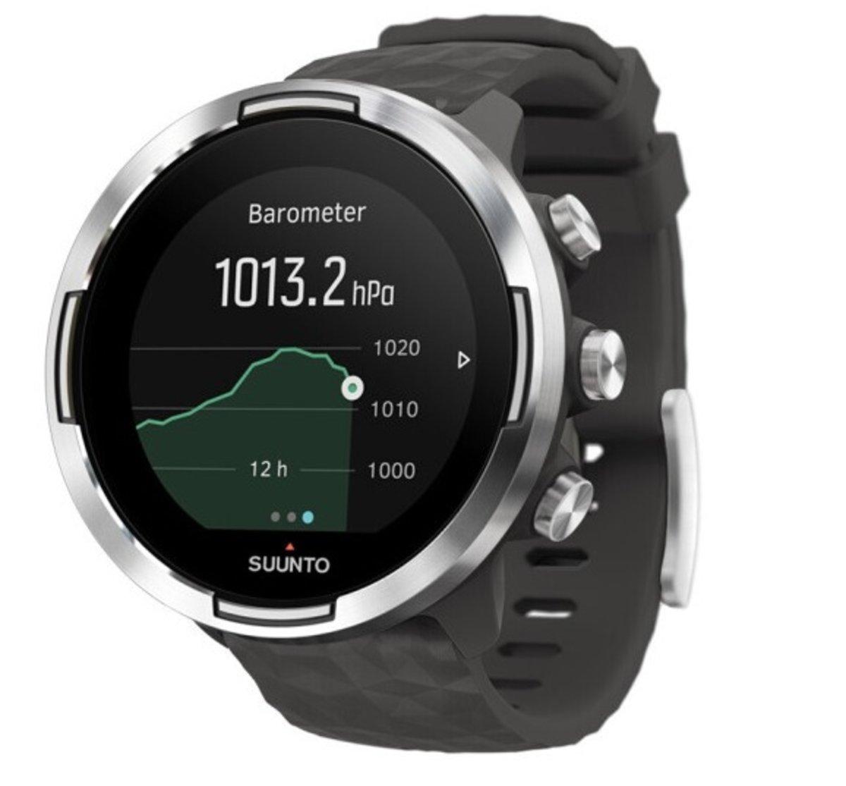 9 Baro Graphite Sport Smart Watch[SS050405000]