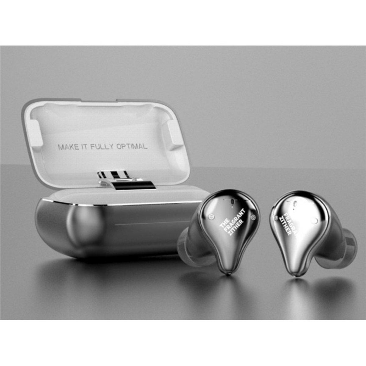 X1E Dynamic Driver HIFI True Wireless Earphons[Silver]