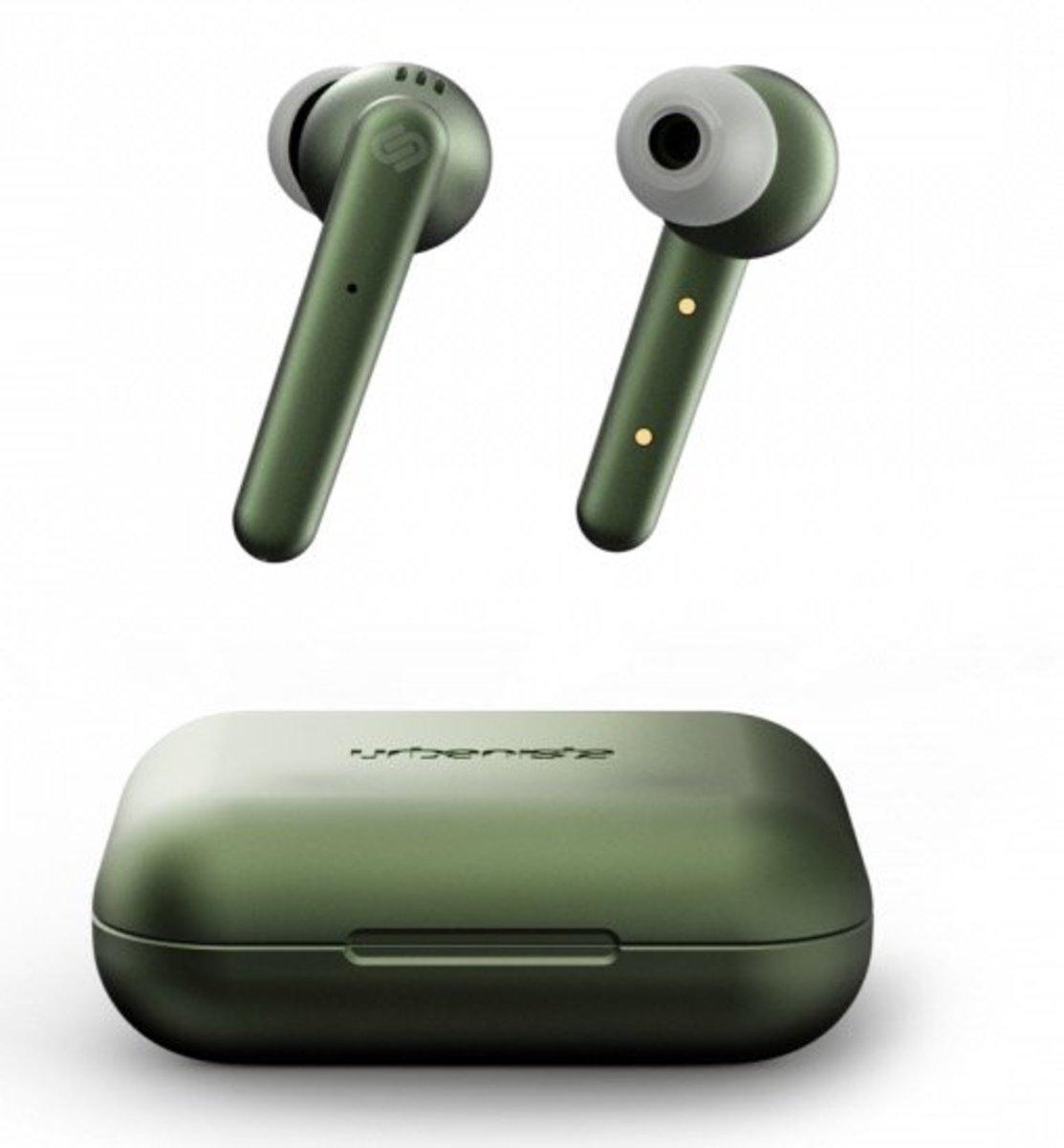 PARIS 無線充電真無線藍牙5.0耳機[綠色]