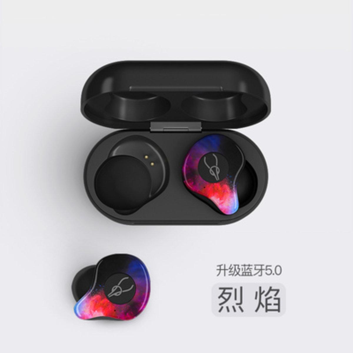 X12 Pro 2019 version True Wireless Earbuds - Flame