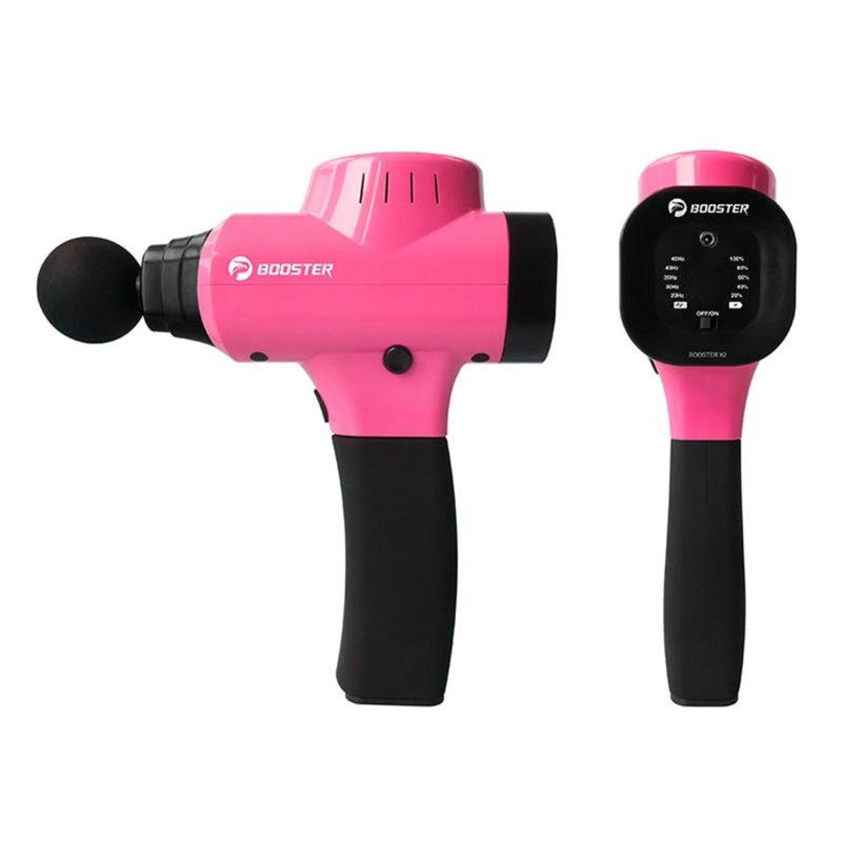 X2 深層肌肉治療按摩槍 - 粉紅色