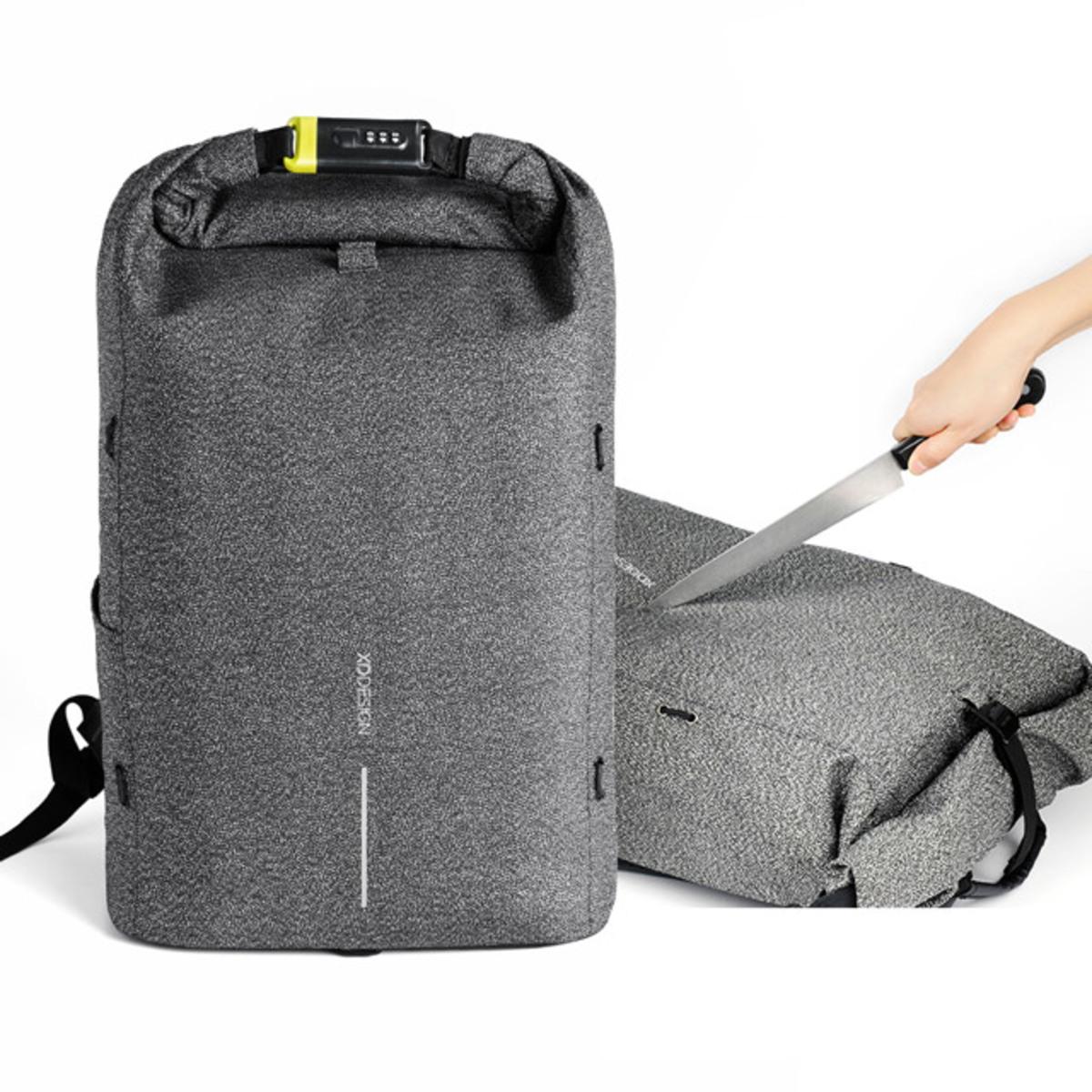 Bobby Urban Cut Proof Anti-Theft backpack - Grey