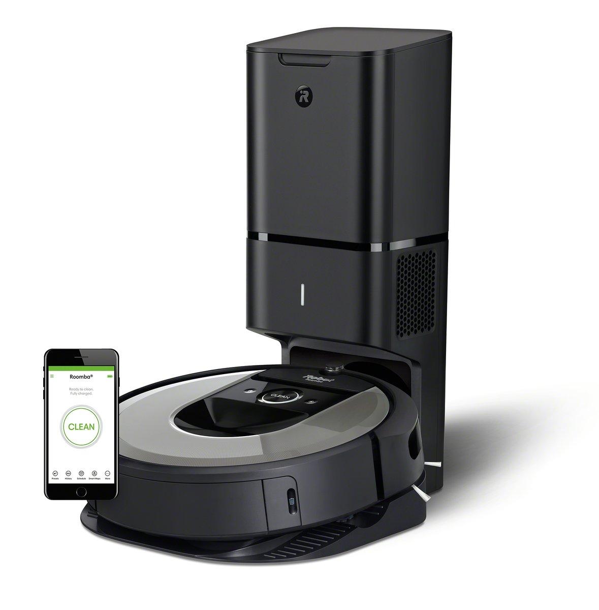Roomba i7+ 吸塵機械人 + 自動髒污處理【香港行貨】