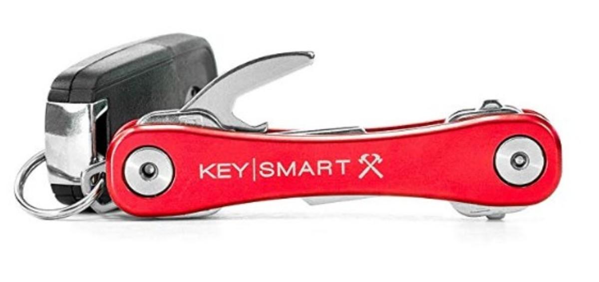 KeySmart Rugged 鑰匙收納器 - 紅色【香港行貨】