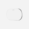 Q.Pad Pro Qual-Coil Wireless Charger - White