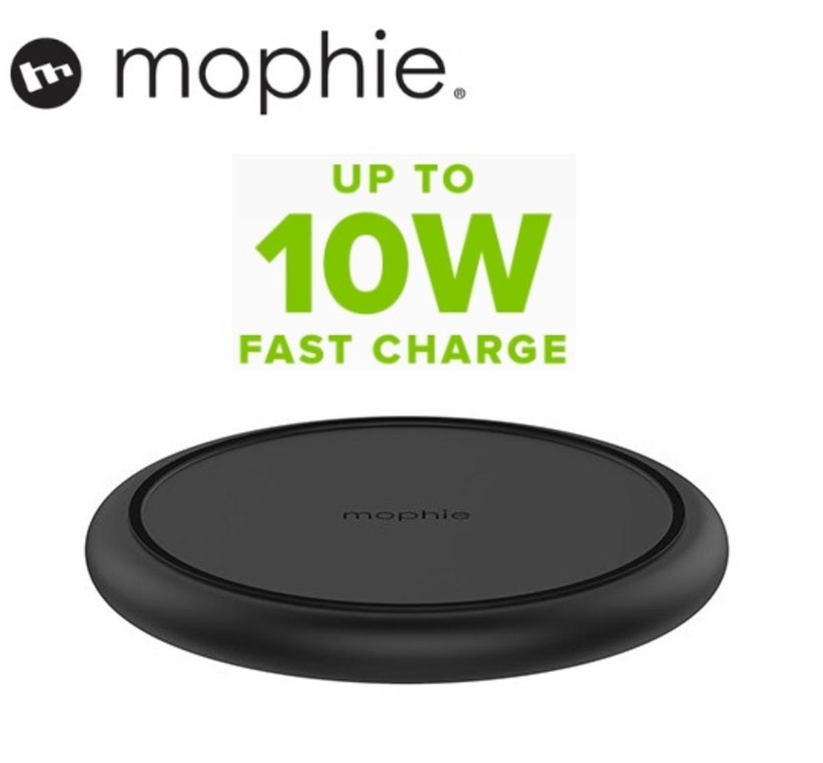 Charge Stream Pad+ Qi 10W Wireless Charging Base - Black