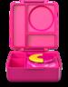 保冷保熱三層防漏餐盒 - 粉紅色