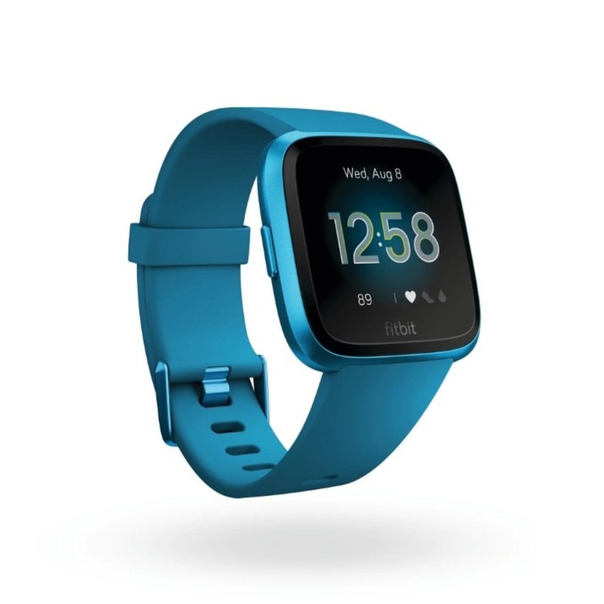 Fitbit Versa Lite 輕量版智能手錶 - 藍色【香港行貨】