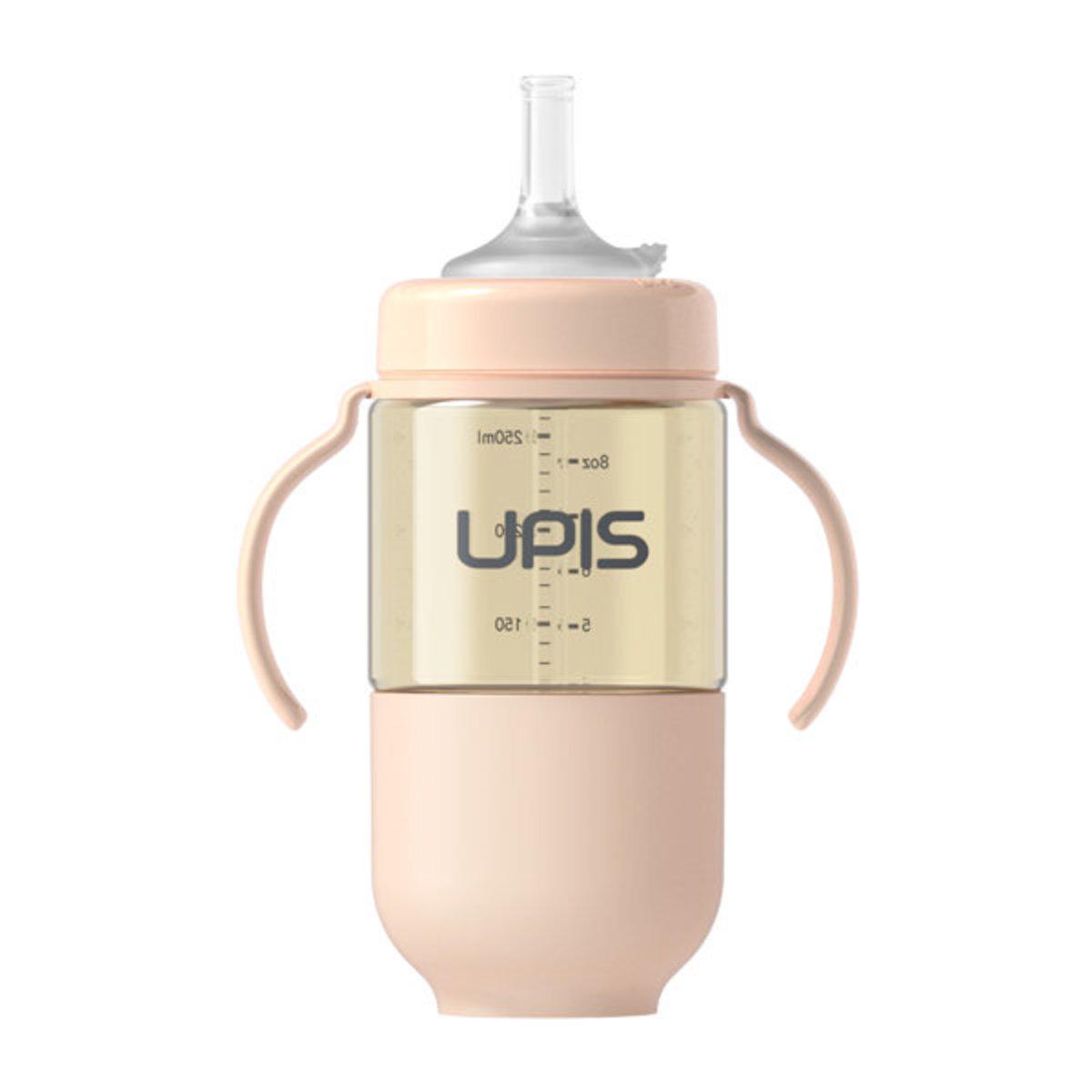 Upis 高級PPSU吸管水杯 (260ml, 粉紅色) 適合6個月或以上