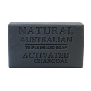澳洲 Natural Australian Triple Milled Soap 天然三重研磨香皂 (活性炭) 100g