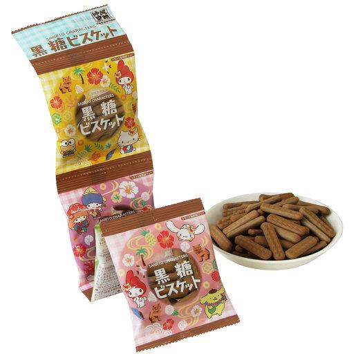 北陸  Sanrio 黑糖四連餅(60g)   HKTVmall 香港最大網購平台