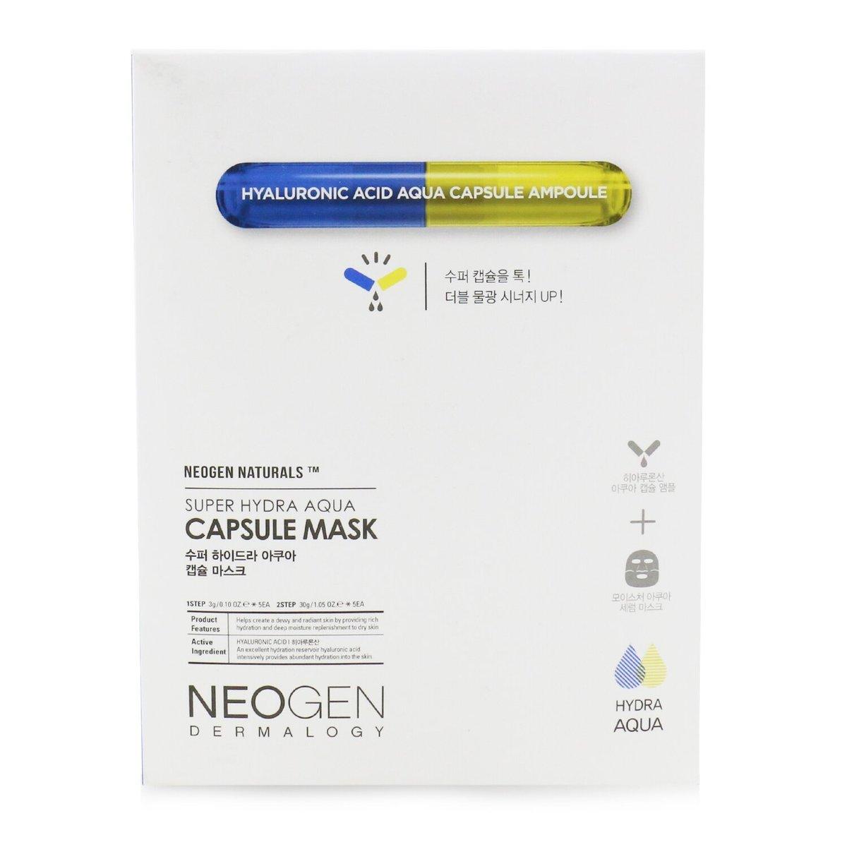 NEOGEN - Super Hydra Aqua Capsule Mask