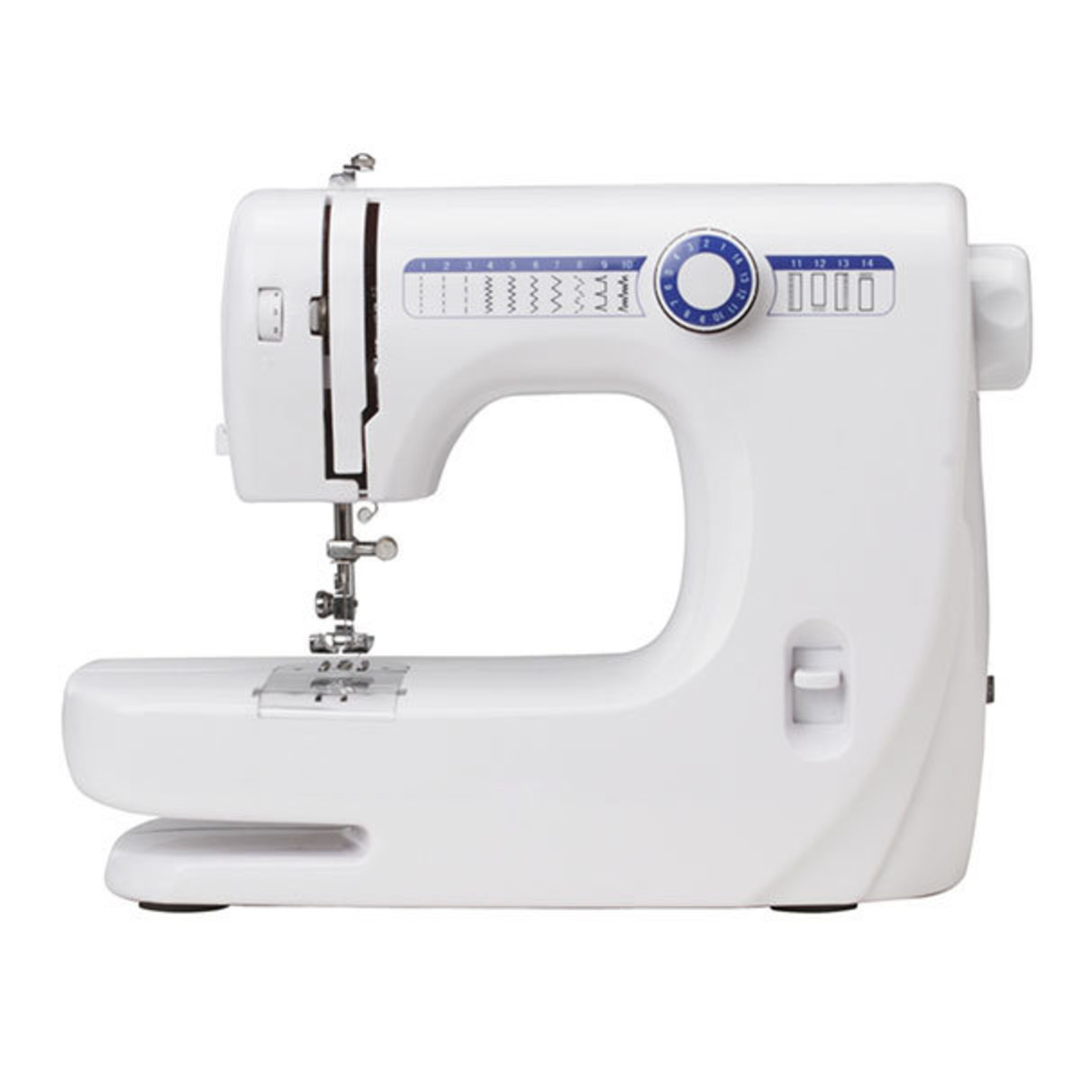 Korean electric household sewing machine 14 stitches multi-function with a lock to eat thick clothes