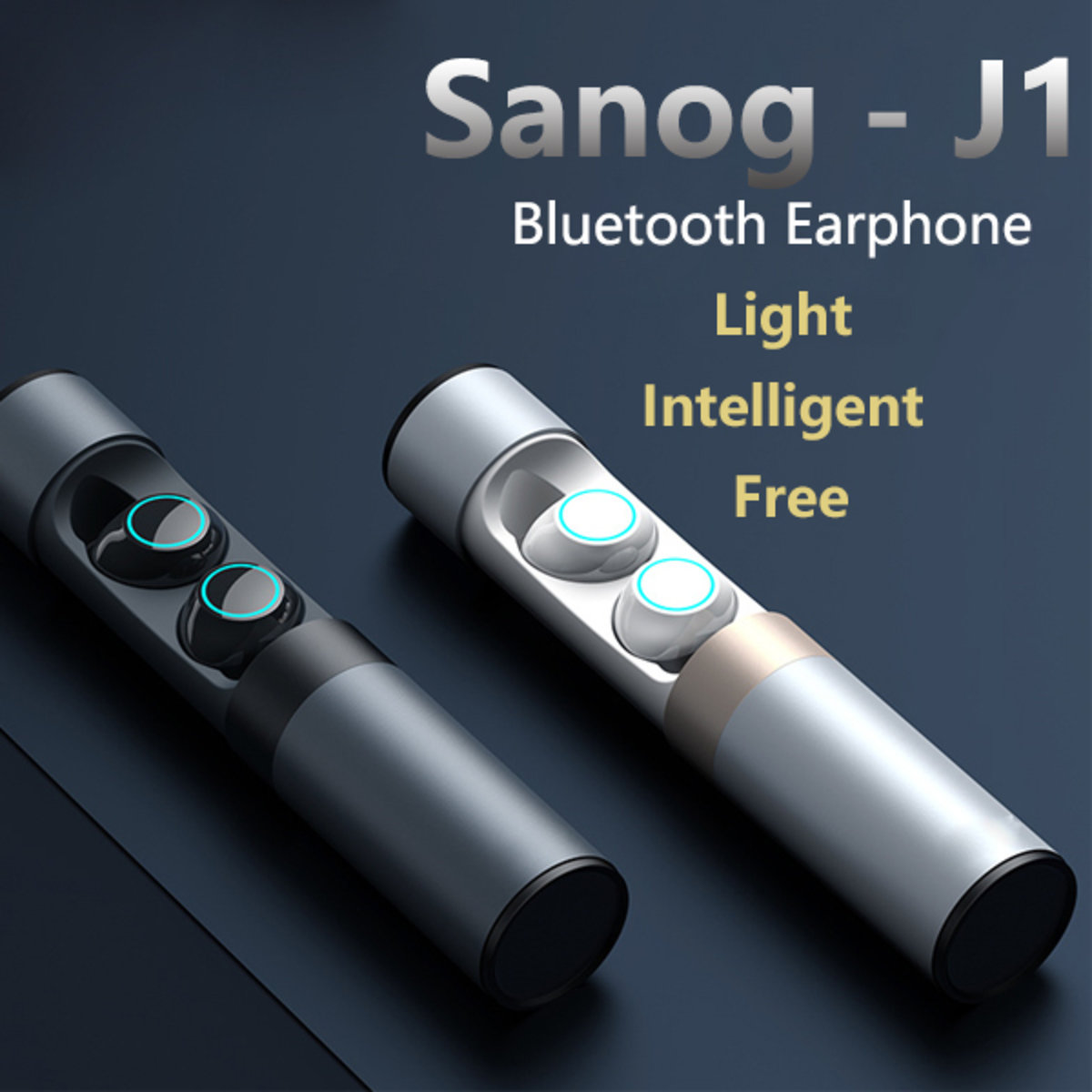 Sanog - J1 Bluetooth 5.0 Touch Waterproof Sports Headphones
