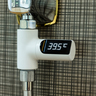 LED automatic power generation water temperature meter