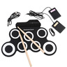 Entry-level folding hand roll electronic drum