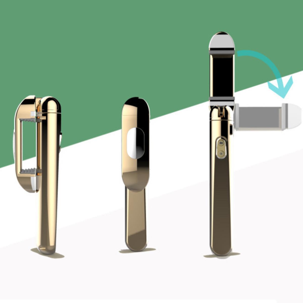 wireless bluetooth fill light selfie stick