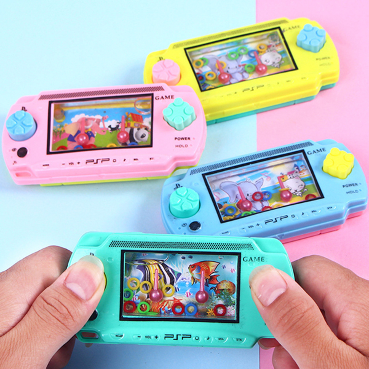 puzzle ring game console