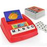 English alphabet to see literacy card machine
