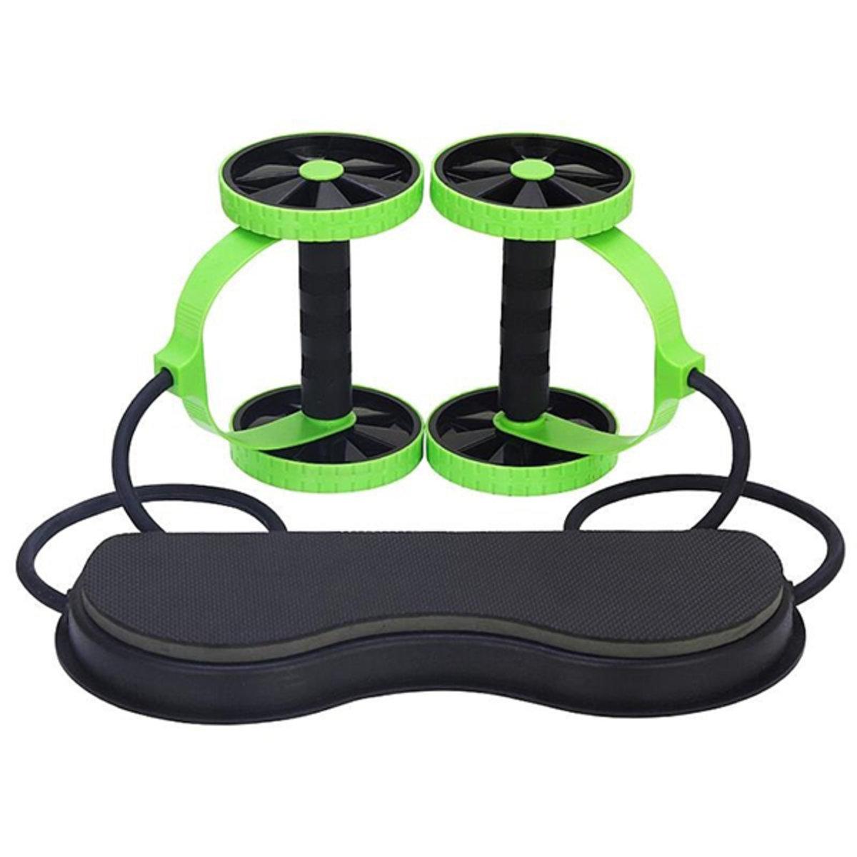 Multifunctional beauty waist double wheel mute tension rope