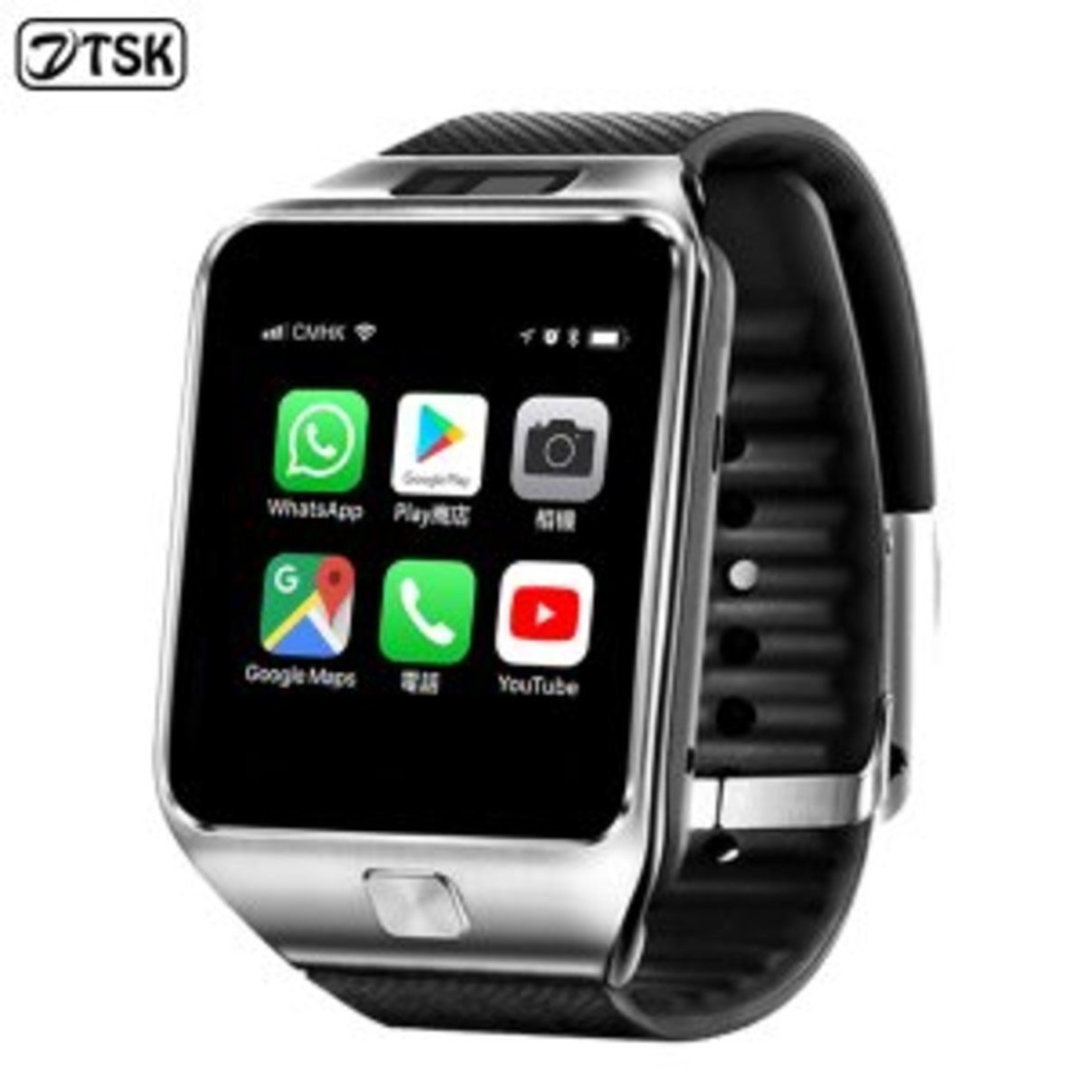 SW6 Smart Watch Phone (Black) (Android)