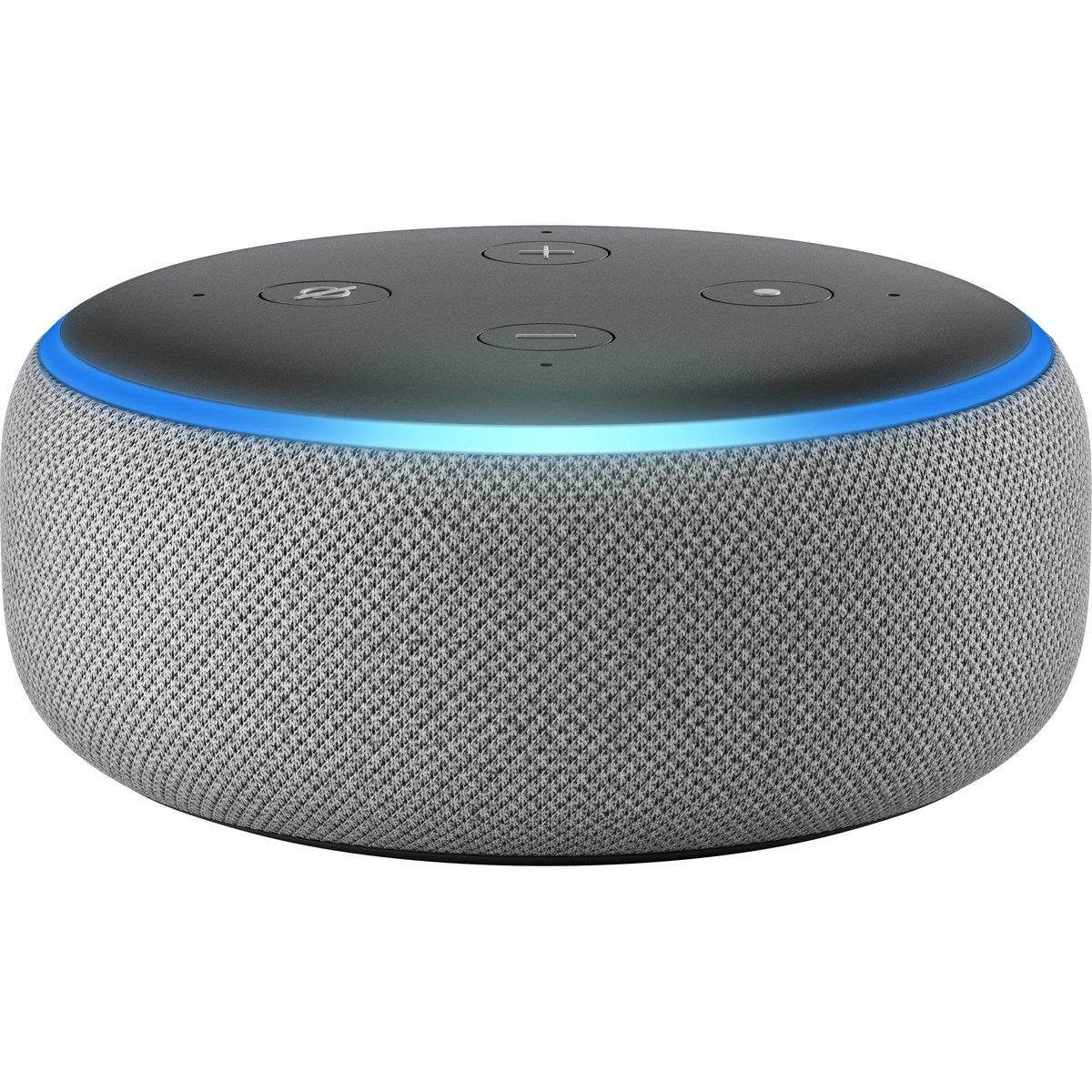 Echo Dot 3代 智能無線喇叭 (內置語音助手) 灰色 - 平行進口