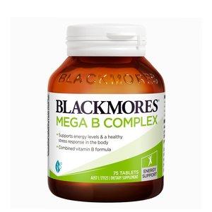 BLACKMORES MEGA COMPLEX B複合多種維生素B族 75粒 75tablet